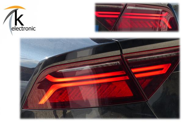 AUDI A7 4G Facelift LED-Heckleuchten dynamischer Blinker Nachrüstpaket