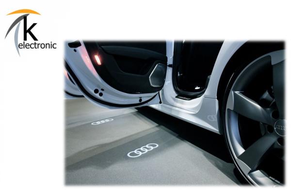 AUDI-Ringe LED-Umbausatz für Türe / s-line style Sondermodell