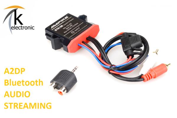 Bluetooth Empfänger für AUX-IN A2DP - AUDI/VW/SEAT/SKODA/BMW/PORSCHE