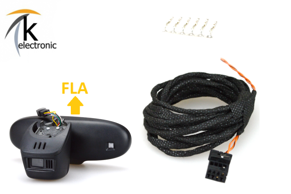 AUDI R8 I Fernlichtassistent FLA Kabelsatz 6pol>8pol mit FLA
