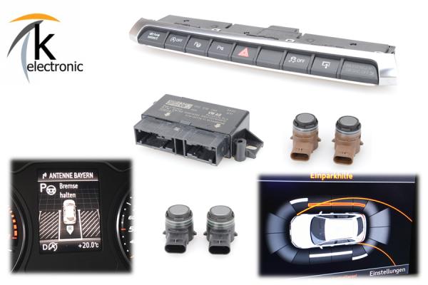 AUDI A3 8V Parklenkassistent PLA / automatisches Einparken Nachrüstpaket