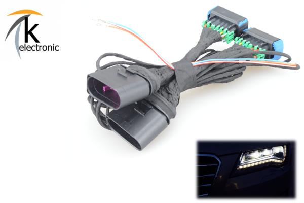 AUDI A7 4G Bi-Xenon ohne Kurvenlicht auf LED-Scheinwerfer Adapter