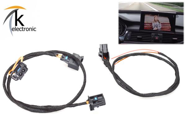 AUDI A7 4G Facelift TV-Tuner DVB-T Kabelsatz Anschlusspaket