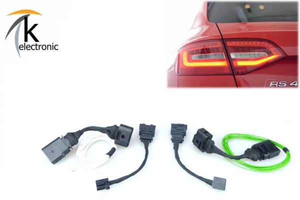 AUDI A4 8K B8 Avant LED Heckleuchten Facelift / nur Adapter