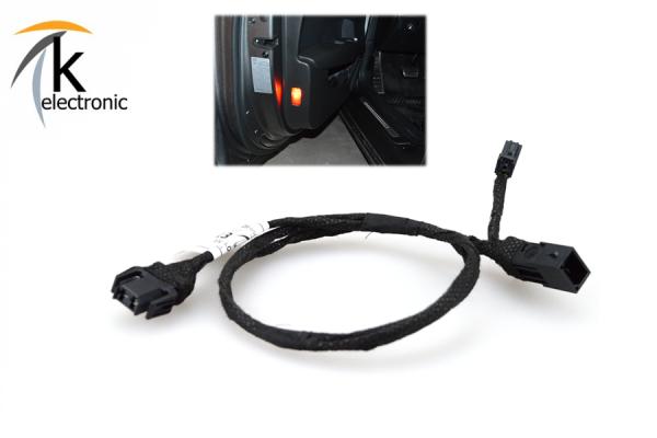 AUDI A7 4G Türbeleuchtung LED + Rückstrahler rot Kabelsatz
