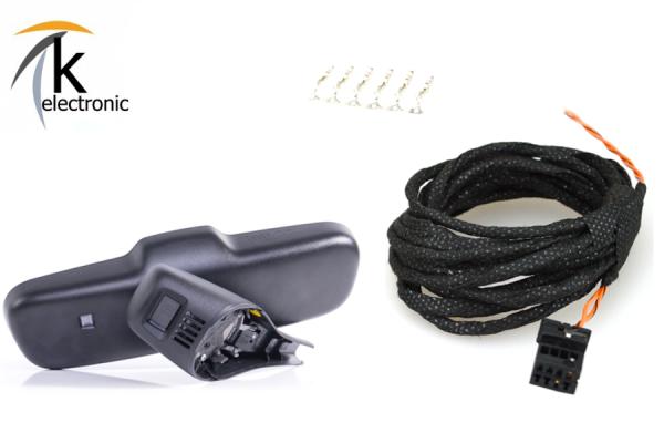 AUDI Q5 8R Fernlichtassistent FLA Kabelsatz 6pol>8pol mit FLA