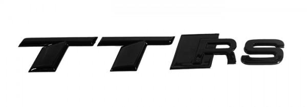 Audi TTRS 8S Schriftzug hinten, schwarz glänzend