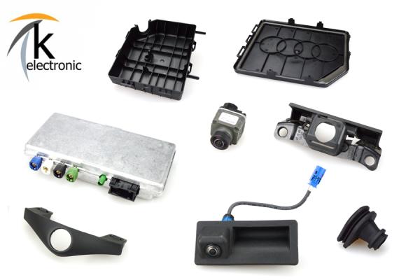 AUDI A7 4G Front-& Rückfahrkamera Nachrüstpaket