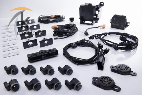 AUDI Q5 8R Einparkhilfe Front + Heck APS+ Nachrüstpaket