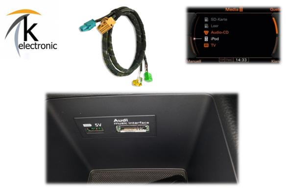 AUDI A3 8V AMI audi music interface Nachrüstpaket