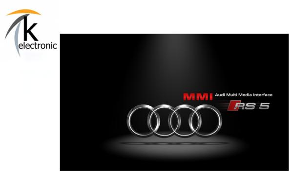 AUDI A5 8T 8F MMI3G/3G+ Startbildschirm ändern auf A5 S5 RS5 Facelift Optik