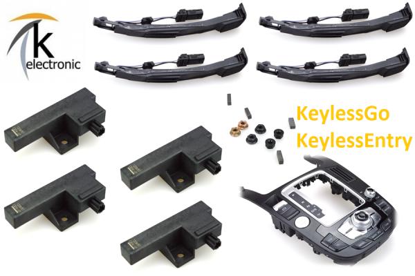 AUDI Q5 8R Komfortschlüssel KeylessGo Nachrüstpaket Kessy