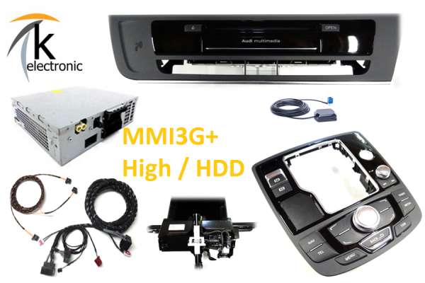 AUDI A7 4G Radio -> MMI3G+ Navigation plus mit touch Nachrüstpaket