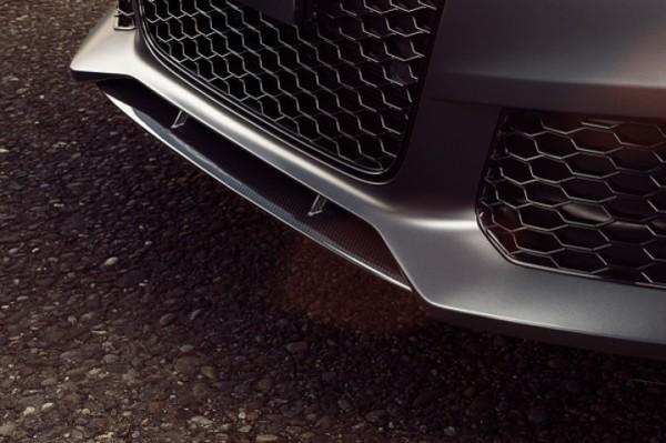 Audi S6 Frontspoiler vorne mittig Carbon