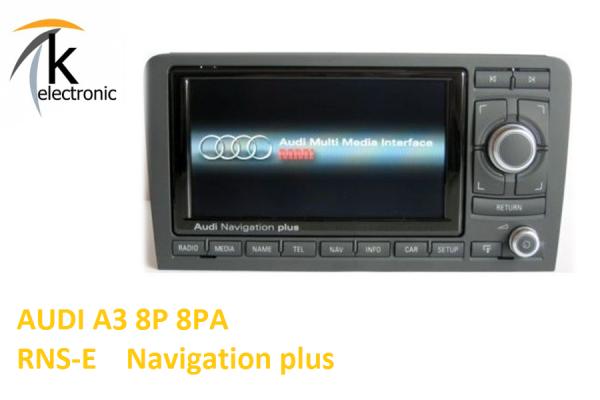 AUDI A3 8P 8PA RNS-E Navigation plus Nachrüstpaket