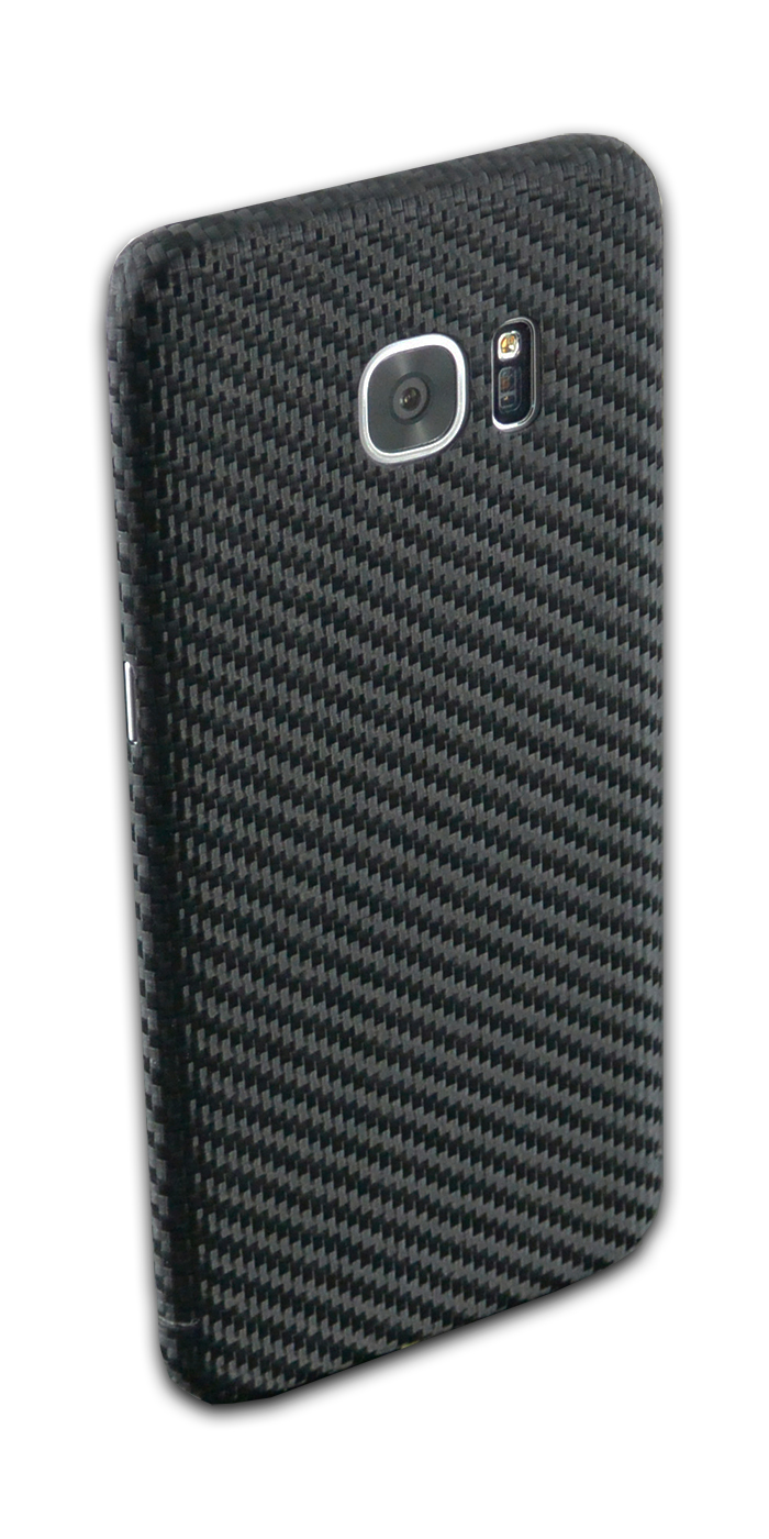 echt carbon cover f r samsung galaxy s7 edge f r samsung carbon handy cover accessoires. Black Bedroom Furniture Sets. Home Design Ideas
