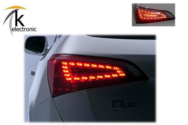 AUDI Q5 8R LED Heckleuchten / Rückleuchten Vor-Facelift Nachrüstpaket