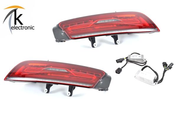 AUDI R8 I Facelift LED-Rückleuchten / Heckleuchten dynamischer Blinker Nachrüstpaket