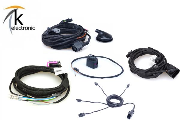 AUDI A3 8V Einparkhilfe APS+ Front + Heck / PDC vorne + hinten Kabelsatzpaket