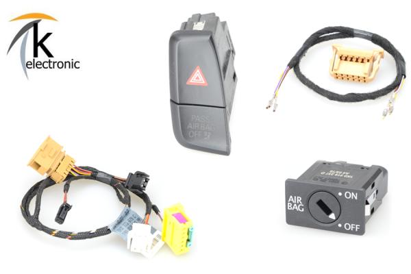 AUDI Q5 8R Beifahrerairbag Schlüsselschalter Airbagschalter Nachrüstpaket