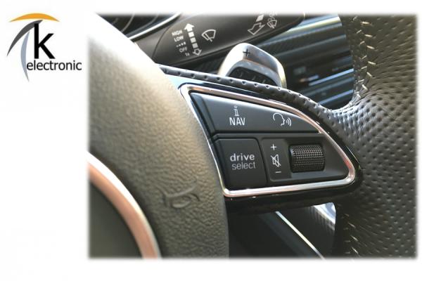 AUDI A7 4G drive select Taste am Lenkrad Nachrüstpaket / RS7 performance