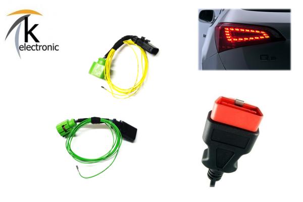 AUDI Q5 8R LED Heckleuchten Vor-Facelift Anschlusspaket