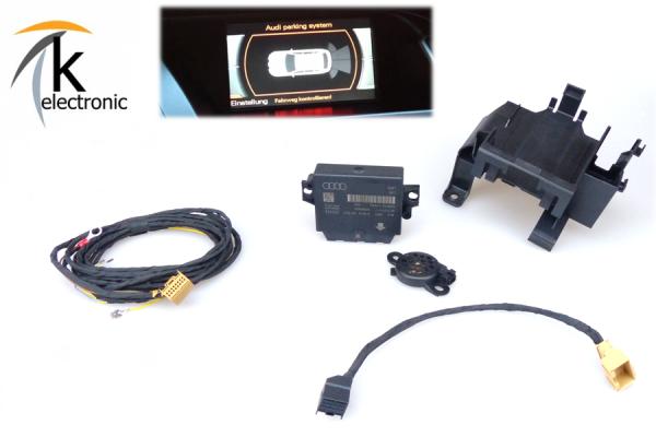 AUDI Q5 8R Einparkhilfe Heck APS optische Darstellung Umrüstpaket