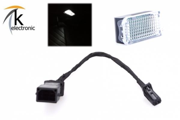 AUDI Q5 8R Handschuhfachbeleuchtung Halogen -> LED-Umbaupaket
