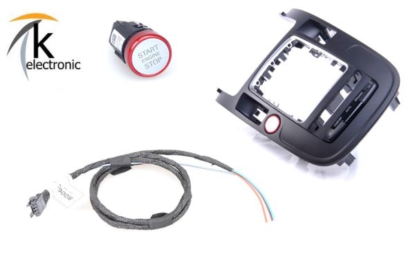 AUDI Q5 8R Motorstartknopf ohne Keyless Nachrüstpaket