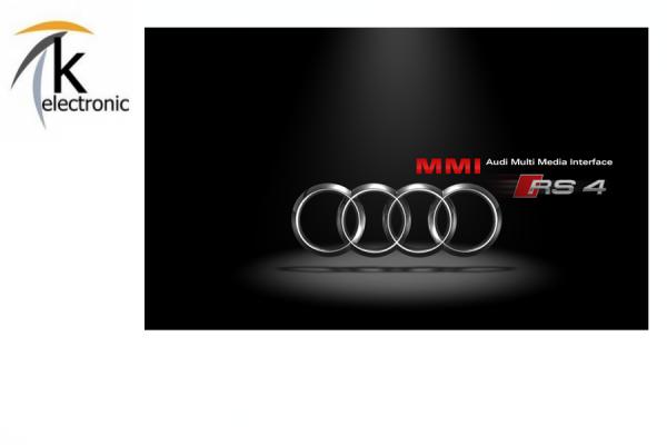 AUDI A4 8K B8 MMI3G/3G+ Startbildschirm ändern auf A4 S4 RS4 Facelift Optik