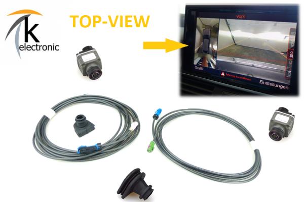 AUDI A7 4G Front-& Rückfahrkamera -> Umfeldkamera Aufrüstpaket