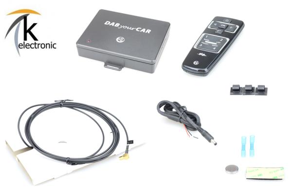 AUDI A7 4G Facelift DAB / DAB+ Nachrüstpaket
