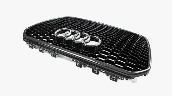 Audi RS6 Kühlergrill mit Carbon Rahmen