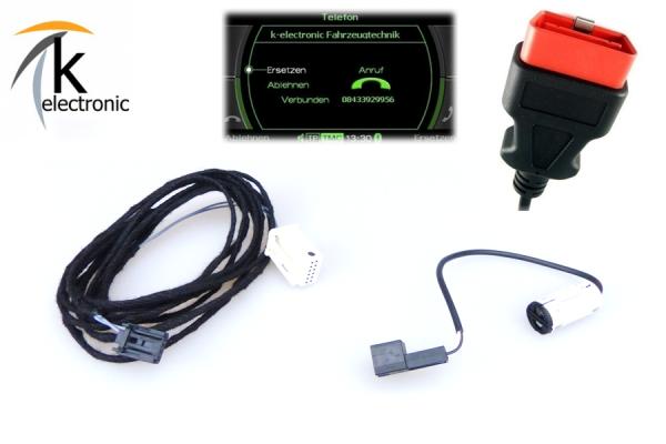 AUDI A5 8F Bluetooth Freisprecheinrichtung Nachrüstpaket