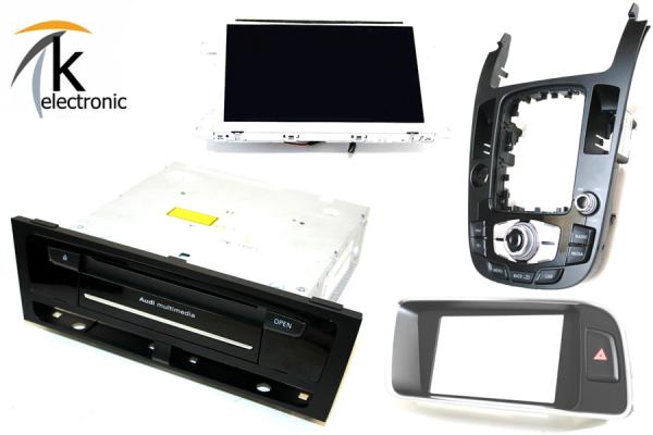 AUDI Q5 8R MMI3G auf MMI3G+ Facelift Navigation plus Umrüstpaket
