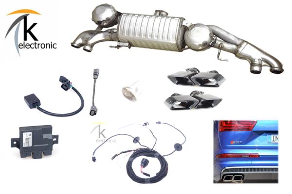 AUDI Q7 -> SQ7 4M aktive elektronische Abgasanlage AGA Nachrüstpaket