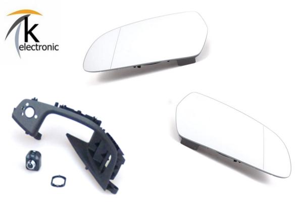 AUDI A3 8V Spiegelheizung / beheizbare Spiegelgläser Nachrüstpaket