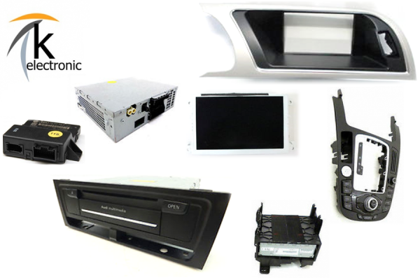AUDI A5 8T 8F MMI3G+ High Navigation plus Umrüstpaket