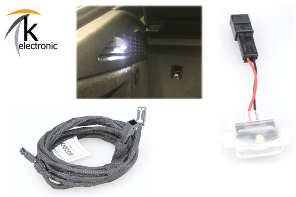 AUDI A3 8V Sportback LED-Kofferraum auf links + rechts LED Nachrüstpaket