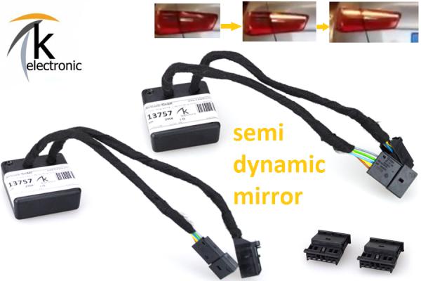 AUDI A7 4G semi dynamische Blinker Laufblinker / Zusatzmodule