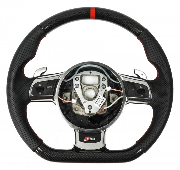 Audi R8 Carbon / Leder Lenkrad für R-Tronic / S-Tronic