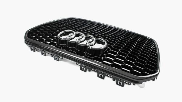 Audi RS7 Kühlergrill mit Carbon Rahmen