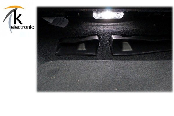 AUDI A4 B9 8W LED - Fußraumbeleuchtung Heck Nachrüstpaket