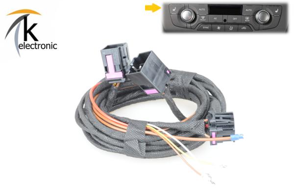 AUDI A7 4G Sitzheizung Front / vorne Kabelsatz