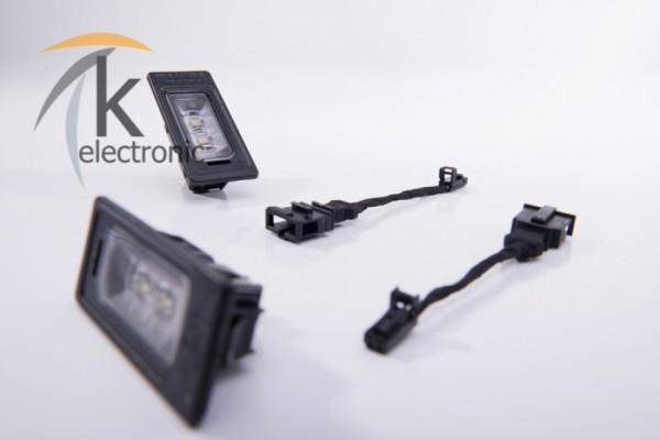 AUDI A6 4G LED-Kennzeichenbeleuchtung Nachrüstpaket
