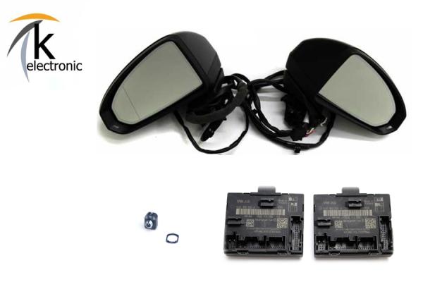 AUDI Q3 8U anklappbare Außenspiegel Nachrüstpaket