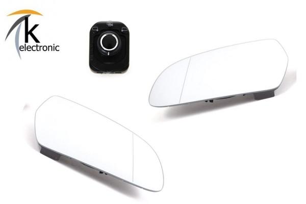 AUDI A5 8T 8F Spiegelheizung / beheizbare Spiegelgläser Nachrüstpaket