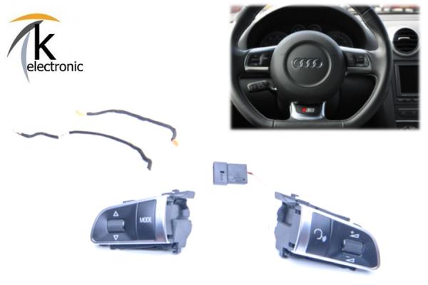 AUDI TT 8J Multifunktionstasten / MuFu Nachrüstpaket
