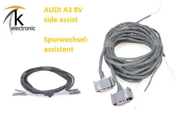 AUDI A3 8V side assist Spurwechselassistent Kabelsatz