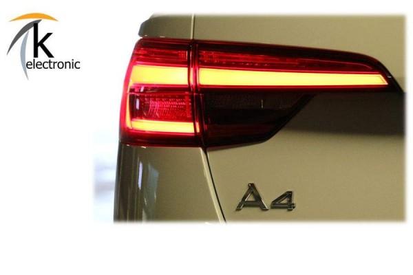 AUDI A4 B9 8W Avant LED-Rückleuchten Heckleuchten dynamischer Blinker Nachrüstpaket